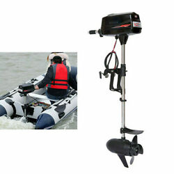 Outboard Engine 10hp 2.2kw Motor Electric Boat Boat Kayaks Propeller 3000rpm Us
