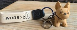 Adorable French Bulldog Leather Keychain Purse or bag decoration New