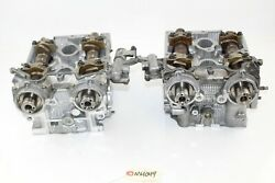 2006-2007 Subaru Wrx 2.5 D25 Engine Cylinder Heads Left And Right Remanufactured
