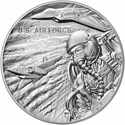 2021 P United States Air Force 2.5 Oz Silver Medal