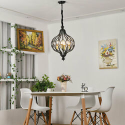Modern Industrial Ceiling Hanging Lamp Fits Kitchen Island Dining Room Entryway
