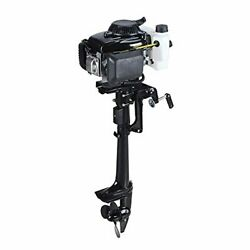 4 Stroke 4.0hp Superior Engine Outboard Motor For Inflatable Kayak Fishing