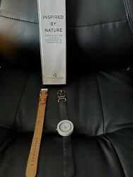 Analo Watch Co. The Mason Collection White Marble Watch