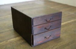 Antique Japanese Small Drawer At Theendthe Edo Period Size H22cm D40cm W27cm