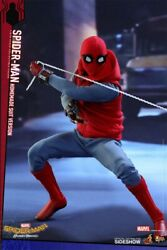 Spider-man Homemade Suit Version Sixth Scale Figure By Hot Toys 902982