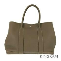 Hermes Garden Party36 2014 Etope Negonda Womenand039s・tote Bag From Japan