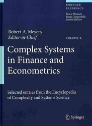Complex Systems In Finance And Econometrics By Robert A. Meyers 9781441977007