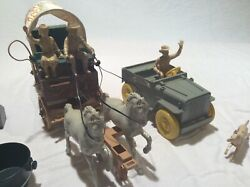 Vintage Ideal Roy Rogers Fix It Chuck Wagon And Jeep