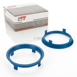 2x Centring Ring Distance Ring For Alloy Wheels - Size Andoslash 716 Mm - Andoslash 666 Mm New