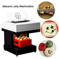 Coffee Cake Printing Machine With Macaron Holder For Jelly Coffee Cappuccino New