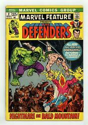 Marvel Feature 2 Vg 4.0 1972