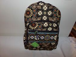 Vera Bradley Nwt Large Campus Backpack In Canyon Rare Retired Exact Item