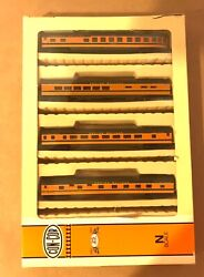 Con-cor N Scale 0001-004003 Great Northern Empire Builder 5 Passenger Car Set Ob
