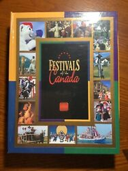 Festivals Of Canada 50 Cent Proof Set- 13 Sterling Silver Proof Coins W/boxand Coa