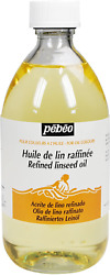 Pebeo 495 Ml Refined Linseed Oil, Transparent