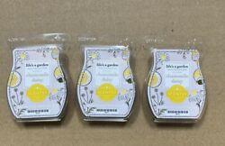 Scentsy Wax Bars Chamomile Daisy Lot Of 3 Life's A Garden Collection