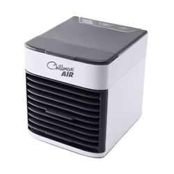Jml Chillmax Air Portable Personal Space Air Cooler Fan And Humidifier Night Light