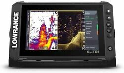 Lowrance Elite Fs 9 Fish Finder With Active Imaging 3-in-1 Transducer Preloa...