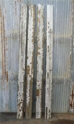 4 Reclaimed Wood Wainscoting Bead Board Architectural Salvage Vintage A1