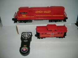 Lionel Lehigh Valley Lionchief Diesel And Caboose W/ Controller Lot 21263