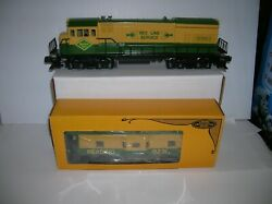 Lionel 6-8962 Reading U36b Diesel And Caboose Lot 21265
