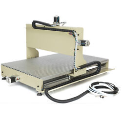 Usb Cnc 6090 Router 4axis Engraver Wood Carving Mill Machine 2.2kw W/ Controller