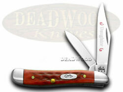 Case Xx Daughter Peanut Knife Old Red Bone Handle Stainless Pocket Knives 781 D