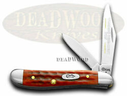 Case Xx Son Peanut Knife Old Red Bone 1/500 Stainless Pocket Knives 781 Wgs
