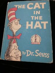 The Cat In The Hat By Dr. Seuss Random House 1957 1st Edition 1st Print Hc