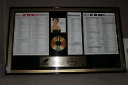 Vanessa Williams Billboard Hot 100 Save The Best For Last Signed Autograph Cd