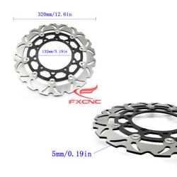 Front Brake Disk Rotor Aluminum+stainless Steel For Yamaha Yzf R25 2015-2016 Cnc