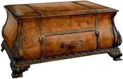 Trunk Lacquer Glaze Distressed Heritage Paper Leather Wood Linen Tabacco