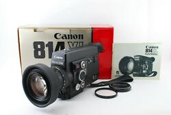 Rare 🌟 Mint 🌟 Canon 814xl Electronic Super 8 8mm Film Movie Camera From Japan