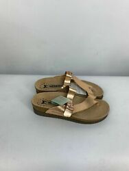 Mephisto Womens Helen Mix Soft-air Technology Cork Footbed Sandal Nude Size 11