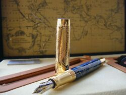 Parker 130th Anniversary Duofold Craft Of Traveling 18k Limited Fountain Pen
