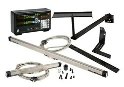 Mitutoyo 64pka059a 12 X 36 2-axis Led Display Bridgeport Dro Mill Package