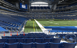 Indianapolis Colts Vs Seattle Seahawks 9/12/21 4 Tix 4 Rows From Field