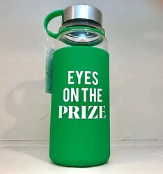 Brand New Bpa Free Glass Water Bottles With Silicone Sleeve
