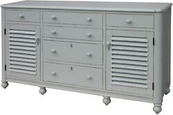Trade Winds Newport Chest Of Drawers Traditional Antique Gray Paint Pain