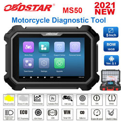 Obdstar Ms50 Motorcycle Diagnostic Tool Scanner Ecu Instrument Coding Tpms Abs