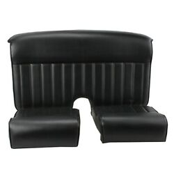 Speedway Track-t Ford Roadster Hotrod Vinyl Upholstery Seat Package, Black