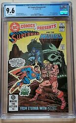 Dc Comics Presents 47 1st He-man/skeletor In Comics Cgc Nm 9.6 White Pages