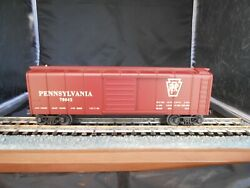 Mth 30-7418 Pennsylvania Rounded Roof Box Car  C8 Ln 418