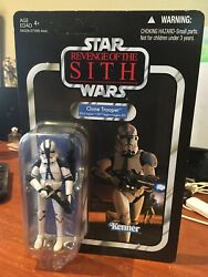 Hasbro Star Wars Vintage Collection Vc60 Clone Trooper 501st Legion - Unpunched