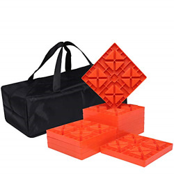 Homeon Wheels Camper Leveling Blocks Ideal For Leveling Single And Dual Wheels