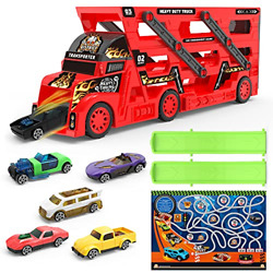 Mihui Toy Cars Trucks For 1 2 3 4 5 6 Year Old Boys Gifts Die Cast Metal Toy