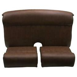 Speedway Track-t Ford Roadster Hotrod Vinyl Upholstery Seat Package, Brown