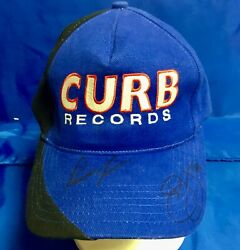 Indianapolis Indy 500 Parnelli And Pj Jones Vintage Hand Signed Curb Records Cap
