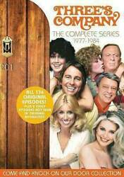 Threeand039s Company The Complete Series Dvd 2014 29-disc Set Brand New