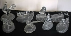 Cristal D'arques Animal Figurines Fine Crystal French Art Glass Choose From 8
